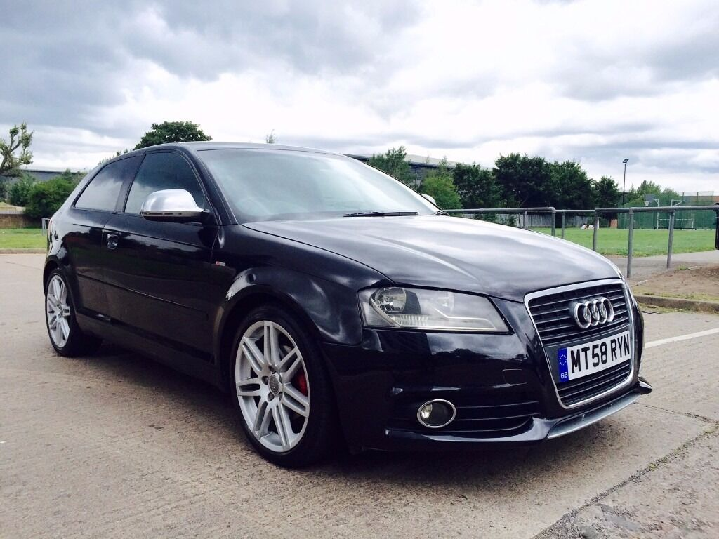 audi a3 2 0 tdi s line black edition premium bose speakers leather bucket seats kwiki autos. Black Bedroom Furniture Sets. Home Design Ideas