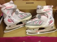 Girls Ice Skates, size 13J to 3