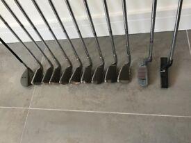 Ladies set of Powerpact 11 golf clubs