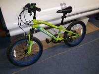 Child's muddyfox mountain bike
