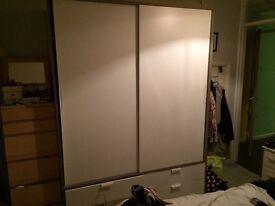 Double wardrobe £60 o.n.o