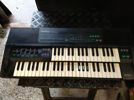 CASIO PM-100 /100 TONE DUAL KEYBOARD