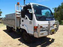 2002 Isuzu NPS 300 4x4 Table / Tray Top Inverell Inverell Area Preview