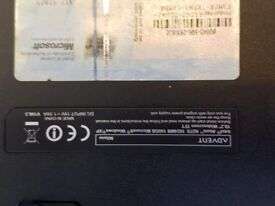Advent Milano- 160GB - 1GB RAM- Windows 7 Laptop