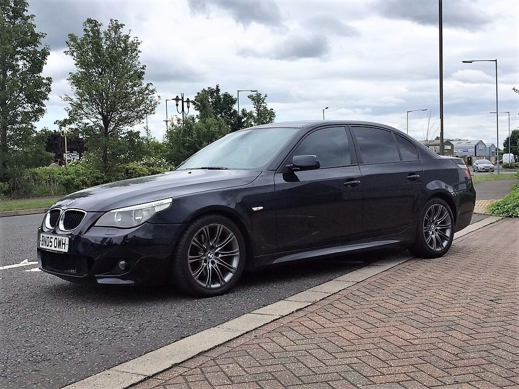 2005 bmw 530d m sport remapped 285bhp f s h wide screen sat nav 520d 525d 535d in. Black Bedroom Furniture Sets. Home Design Ideas