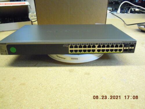 NetGear ProSafe GS728TPP 24-Port Gigabit PoE+ Smart Switch and 4 SFP Ports *av09