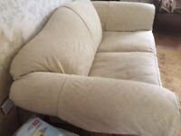 Multiyork 2 - 3 Seater Sofa Scroll Arm Turned Wood Legs On Castors
