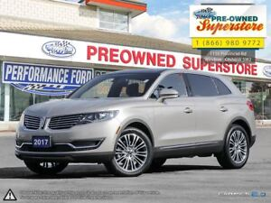 2017 Lincoln MKX Reserve>>>Active park assist, heated rear seats