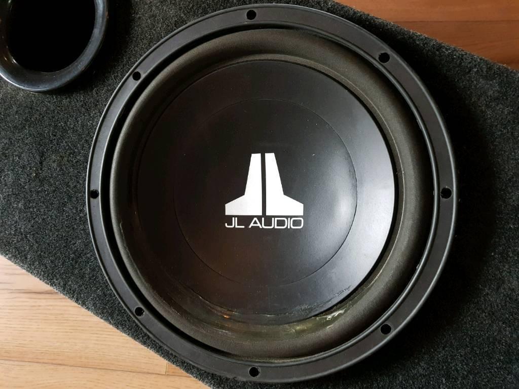 JL Audio Subwoofer & Enclosure