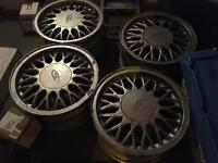 Cosworth shark tooth alloy wheels