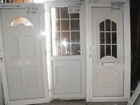 White PVC Doors - Very Good Condition for Sale