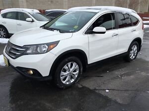 2013 Honda CR-V AWD, Navigation, Leather  Heated Seats, BACKUP C