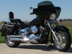 2000 yamaha  V-Star 650 Classic   Vance and Hines with Quick Det