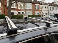 Thule Roof Box (Large) with Bars and Footpack