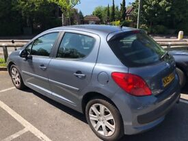 PEUGEOT 207 AUTOMATIC FOR SALE