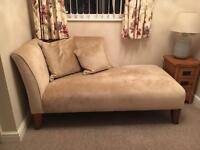 Laura Ashley Chaise Lounge Sofa
