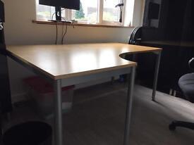 Large Ikea desk