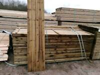Tanalised Green Featheredge