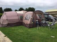 Gelert Horizon 8 Tent + Extras