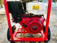 Honda GX340 industrial pressure washer