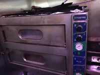 double pizza oven. Single phase or 3 phase option