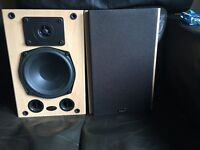 Gale Gold Monitor speakers.