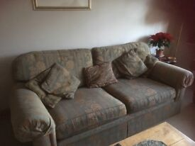 Marks and Spencer sofa and armchair