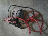 A PAIR OF CAR JUMP LEADS GOOD QUALITY £ 5 NO TEXTS PLEASE