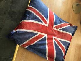 iCon Large Union Jack Oversized Bean Bag