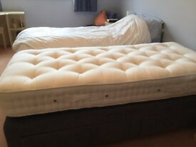 Single bed prestige ,mattress base with 2 drawers