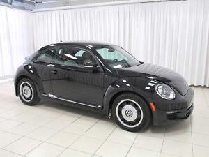 2015 Volkswagen Beetle VW CERTIFIED! Classic! 1.8L TSi Turbo! Lo