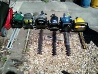 Hedge trimmers, various makes and prices, please read details.