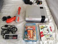 Nintendo nes games console