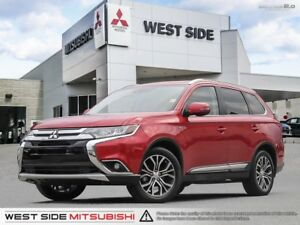 2016 Mitsubishi Outlander GT–Accident Free–One Owner–Navigation–