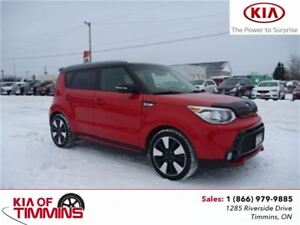 2014 Kia Soul Two-Tone Inferno Red/Black Special Edition