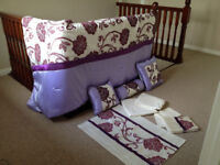 King Size Quilt & Bed Set / Bedding Set - Excellent condition - you'll love it!