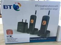 BT elements 1k trio cordless handsets