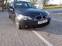 Bmw 530d m sport, carbon black, automatic, long mot, black leather, good options,20 alloys