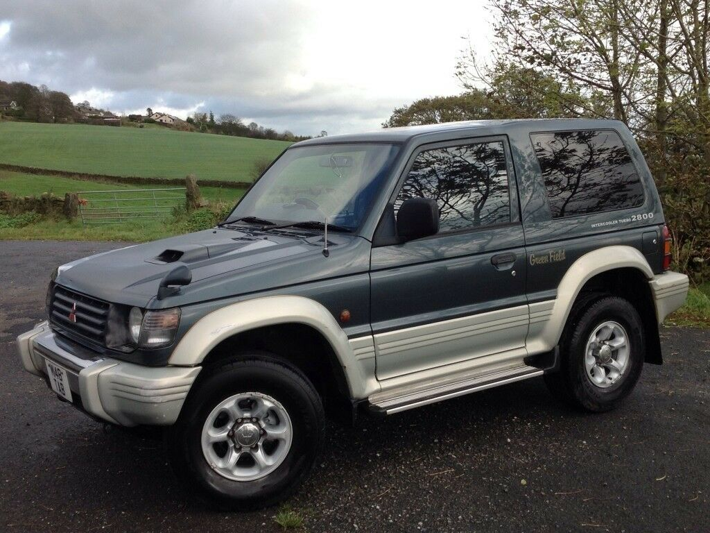 mitsubishi pajero 2 8 ltd edition swb 3 doors 4x4 automatic green low mileage long mot. Black Bedroom Furniture Sets. Home Design Ideas