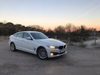 BMW F34 3 Series GT Luxury Alpine White 2014 318D FSH 5yr Service Pack +Warranty
