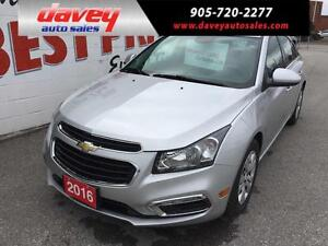 2016 Chevrolet Cruze Limited 1LT BACK UP CAMERA, BLUETOOTH, M...