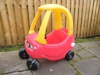 LITTLE TIKES RED COZY COUPE OUTDOOR RIDE IN CAR - OFFERS