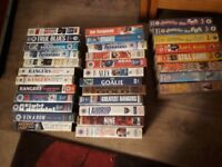 Rangers vhs video tapes
