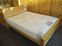 Pine Panel Bed