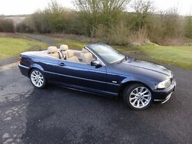 BMW 330ci Convertible - low mileage