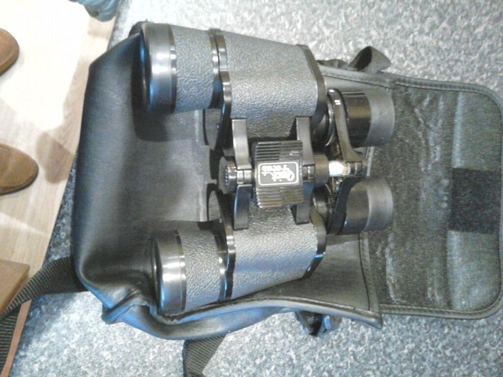 falcon 7x21x40mm fast zoom binoculars black