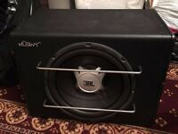 "JBL 12"" Mutant Amplifier Car Subwoofer/Sub/Amp"