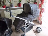 Mamas and Papas MPX Travel system (pram and pushchair / buggy)