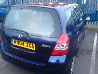 honda jazz se 2004 automatic 84000 miles in very good condition drives very smooth long mot