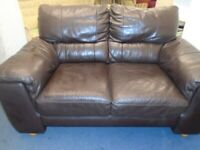 LEATHER SOFA at Haven Trust's charity shop at 247 Radford Road, NG7 5GU